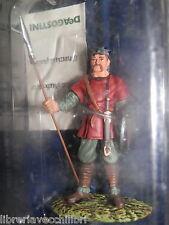 SOLDATINO MEDIEVALE SM042 Miniatura in metallo della De Agostini lanciere scudo