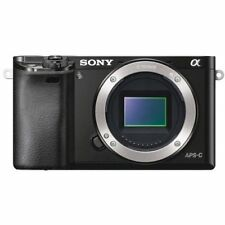 BRANDNEU Sony Alpha A6000 Mirrorless Digital Camera Black Body Only