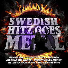 Swedish Hitz Goes Me - Swedish Hitz Goes Metal [New CD]