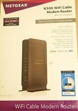 Netgear N300 WiFi DOCSIS 3.0 Cable Modem Router C3000