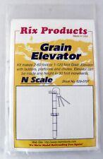 N Scale Grain Elevator Kit - Rix Products #628-0707
