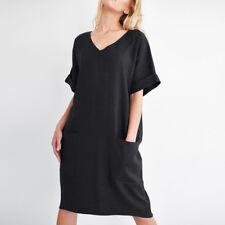S-5XL ZANZEA Women V Neck Short Sleeve Casual Summer Tunic Long Shirt Dress Plus