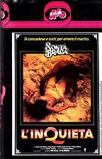 L' Inquieta (1978) VHS AVOfilm 1a Ed. Yara Amaral, Sonia Braga, Jorge Doria RARA