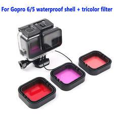 45M Underwater Waterproof Housing Case Dive Filter Kit for GoPro Hero5 6 7 Black