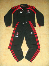 AC Milan Soccer Tracksuit Milano Italy Adidas Football Presentation Suit XLB