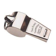 Acme thunderer nickel whistle medium / high tone dog training referee whistles