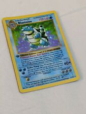 Blastoise 2/102 Base Set Pokemon Card Holo Foil Rare