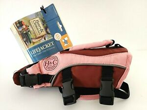 NEW Henry Clemmies Dog Life Jacket for Swimming XXS small preserver Pink