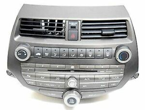 08 09 10 11 HONDA ACCORD AM FM RADIO CD PLAYER CLIMATE CONTROL OEM
