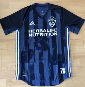 Adidas LA Galaxy Blank Away Authentic MLS Soccer Jersey Mens Choose Size NWT