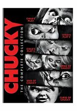 Chucky Child's Play 1 2 3 + Bride + Corpse + Curse Limited Edition Box / DVD Set