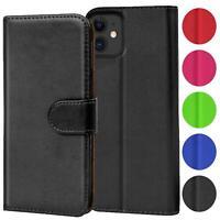 Verco Hülle für Apple iPhone 11 Handyhülle Handy Tasche PU Leder Flip Case Etui