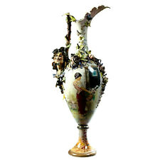 Ewer, Large Italian Porcelain, Late 19th Century ( 1800s ), Gorgeous Antique!