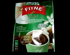 FITNE INSTANT COFFEE 3 in 1 WITH WHITE KIDNEY BEAN EXTRACT  SUCRALOST 10 SACHEST