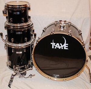 Taye Studio Maple Shell Kit - black - 4-teilig - DEMO