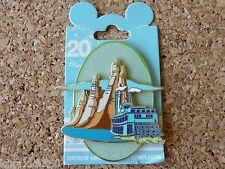 Disney Paris LE Trading Pin - Big Thunder Mountain Boat 20th Anniversary - 90689