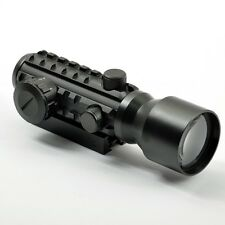 Tactical 2X42 Red Dot Scope With Tri-Rail To Fit 20mm/11mm Rail