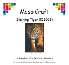 MosaiCraft Pixel Craft Mosaic Art  Kit 'Stalking Tiger' Pixelhobby