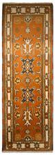 Tapis orange rectangulaires coton mélangé pour la maison