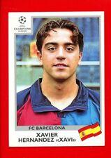 CHAMPIONS LEAGUE Panini 1999-2000 - Figurina-Sticker n. 45 - XAVI - BARCELONA