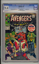 Avengers #54 CGC 9.4 NM Unrestored Marvel 1st Ultron 1st New Masters of Evil