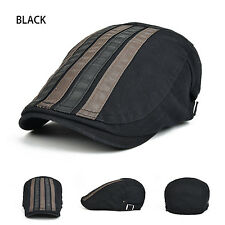 Cotton Flat Cabbie Newsboy Gatsby Hat Unisex Beret Cap Ivy Hat Golf Driving