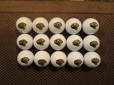 LOGO GOLF BALLS-(15) NFL....JACKSONVILLE JAGUARS.................NEW!!!