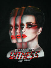 Katy Perry Witness Music Tour 2017 Concert T-Shirt New Men's Small Red Letters