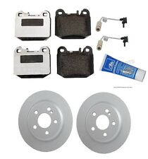 Mercedes W163 ML55 AMG ML430 Rear Complete Brake KIT Pads W/Sensors + Lubricant