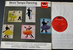 HORST WENDE ORCHESTRA STRICT TEMPO DANCING LP POLYDOR STEREO (1965) EX++ EASY