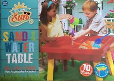 Sand & water table kids play 18+ months