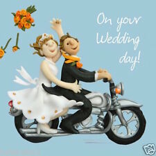 "HOLY MACKEREL'S""ON YOUR WEDDING DAY""GREETING CARD *FREE 1ST CLASS P&P"