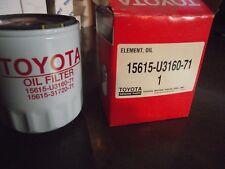 Qty 2 Toyota Fork Lift Oil Filter 15615-U3160-71