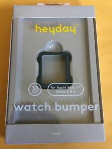 Heyday Watch Bumper Hard Shell 38mm for Apple Watch series 2 & 3 - Dark Teal New
