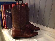 bottes santiags KICKER'S plein cuir brun .t 41 (S/A/G)