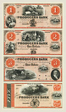 Janesville, Wisconsin - Producers $1-$2-$3-$5 Uncut Sheet Proof REPRODUCTION