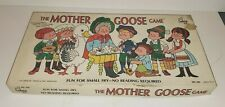 VINTAGE CADACO MOTHER GOOSE BOARD GAME 1971 AS-IS BOX & BOARD ONLY NOT COMPLETE