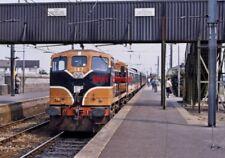 PHOTO  IRISH RAILWAY - CIE LOCO NO  167 HOWTH JNC 20.05.1989