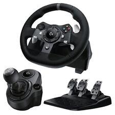 Logitech G920 Racing Wheel + Gear SHIFTER for Xbox One & PC! BRAND NEW!