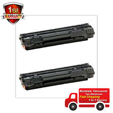 2PK 35A CB435A Laser Toner Cartridge Compatible for HP LaserJet P1006 Printer