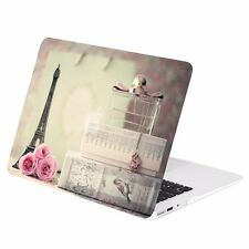 """Paris in Air Graphics Rubberized Hard Case for Macbook Air 13"""" A1369 & A1466"""
