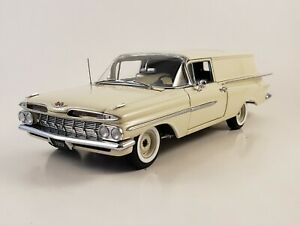 "1959 West Coast Precision Diecast Chevrolet Sedan Delivery ""ERMINE WHITE"" LE"