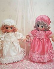 Rag Doll Toy Bride and Bridesmaid Doll Sewing Pattern (RG01