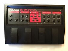 Boss Roland BE-5M Programmable Multi Effects Processor Rare Vintage Guitar Pedal