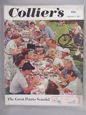 "Collier's Magazine - September 2, 1950 ~~ Kurt Vonnegut story ""Thanasphere"""