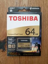 Compact Flash CF Toshiba EXCERIA PRO™ C501 64Gb 1066X 160Mb/s Read 150Mb/s Write