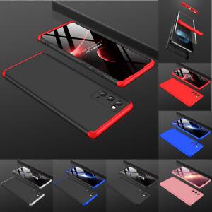 Samsung Galaxy Note 20 / Ultra 360 Grad Full Cover Schutz Hülle Case + 3D Glas
