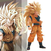 Anime Dragon Ball Z DBZ Figure Jouets Super Saiyan 3 Goku Figurine Statues 20cm
