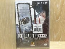 Ice Road Truckers The Complete Season One 3 Disc Set DVD New & Sealed