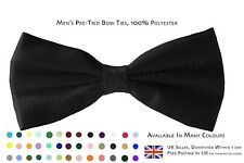 Men's Bow Tie. Dickie Bow Tie, Smart Fromal Bow Tie. Fine Satin Shine, Various